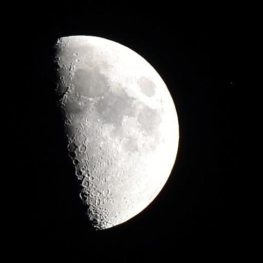 Księżyc – obrazy HDRi (Moon – High Dynamic Range imaging)